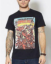 Secret Wars Deadpool Shirt - Marvel