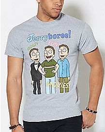 Jerryboree T Shirt - Rick and Morty