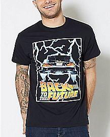 Delorean Back To The Future T Shirt
