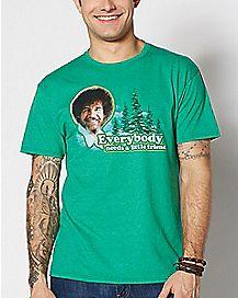 Everybody Needs A Little Friend Bob Ross T Shirt