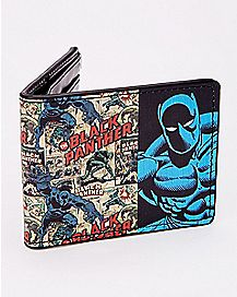 Comic Black Panther Bifold Wallet - Marvel