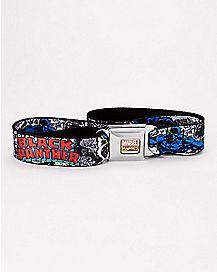 Black Panther Seatbelt Belt - Marvel