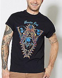 Warrior King Black Panther T Shirt - Marvel