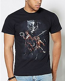 Group Black Panther T Shirt - Marvel