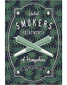 United Smokers of Hempshire Poster