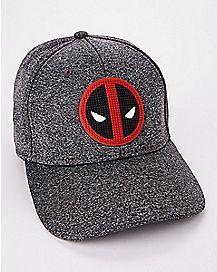 Rubber Logo Deadpool Flex Hat - Marvel