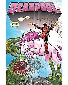 Unicorn Deadpool Poster - Marvel