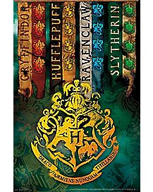 Hogwarts Crest Poster - Harry Potter