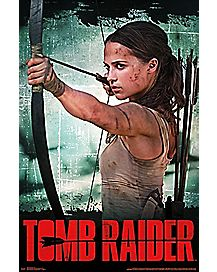2018 Tomb Raider Poster