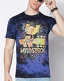 Tie Dye Woodstock T Shirt