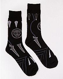 Black Panther Crew Socks - Marvel
