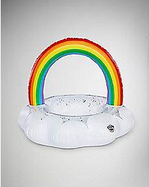 Cloud Rainbow Pool Float