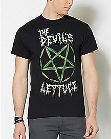 Pentagram The Devil's Lettuce T Shirt