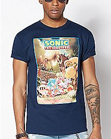 Sonic The Hedgehog T Shirt