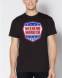 Americana Weekend Warrior T Shirt