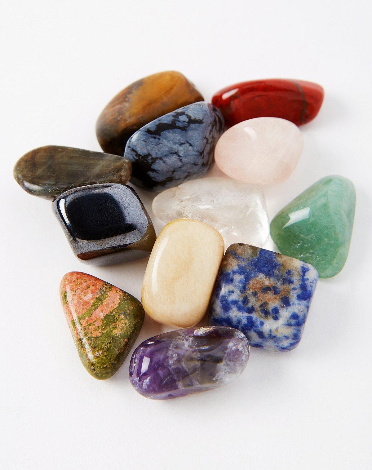 Crystal healing stone kit