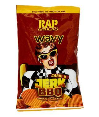 Cardi B Jerk BBQ Wavy Potato Chips