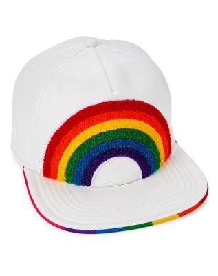 rainbow snapback hat
