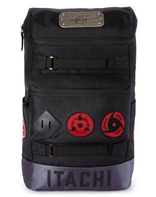 Naruto badge built up backpack