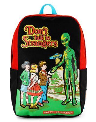 Don't Talk to Strangers Steven Rhodes Backpack