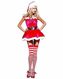 Adult Miss Mistletoe Costume