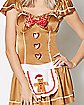 Adult Gingerbread Girl Costume
