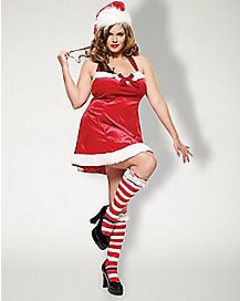 Adult Santa's Little Helper Plus Size Costume
