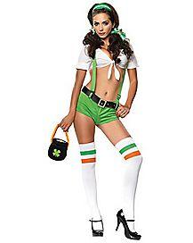 Adult Irish Cutie Costume