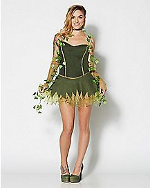 Adult Poison Ivy Costume -  DC Comics