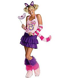 Adult Cheshire Cat Costume - Alice in Wonderland