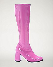Hot Pink Go Go Boots
