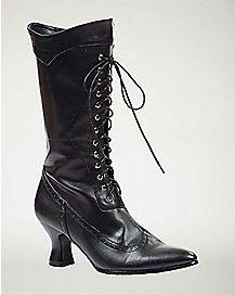 Black Victorian Boot