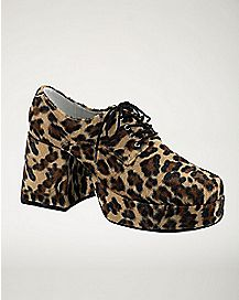 Jazz Leopard Platform Shoes