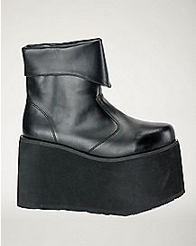 Black Monster Shoes