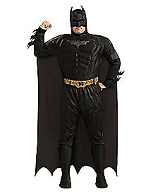 Adult Batman Plus Size Costume Deluxe - The Dark Knight
