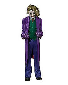 Adult Joker Costume Theatrical- Batman The Dark Knight