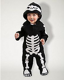 Baby Skeleton Costume