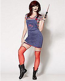 Adult Sexy Chucky Costume - Chucky