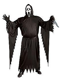 Adult Ghost Face Plus Size Costume - Scream 4