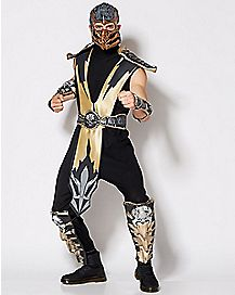 Adult Scorpion Costume - Mortal Kombat