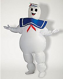 Adult Inflatable Stay Puft Marshmallow Man Costume - Ghostbusters