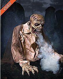 Gaseous Fog Zombie Animatronic - Decoration
