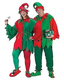 Adult Elf Plus Size Costume