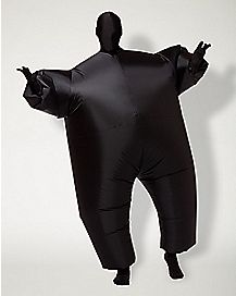 Adult Black Inflatable Blimpz Costume