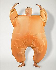 Adult Orange Blimpz Inflatable Costume