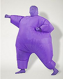 Adult Purple Inflatable Blimpz Costume