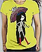 Adventure Time 'Marceline Umbrella' Junior Fitted Tee
