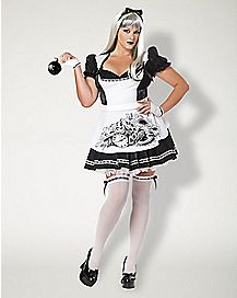 Adult Dark Alice Plus Size Costume