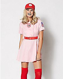 Adult Rockford Peaches Costume - A League of Their Own