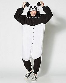 Adult Panda One Piece Costume